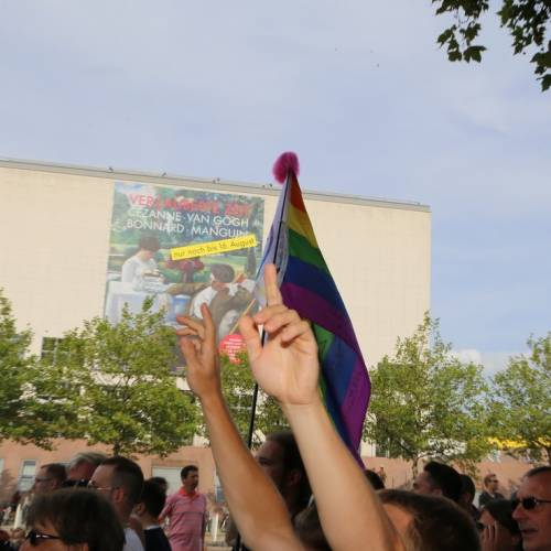 Hamburg Pride Demonstration 1 & Strassenfest - Bild 580