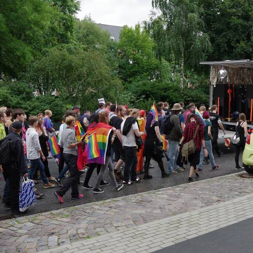 CSD Kiel - Demonstration - Bild 8