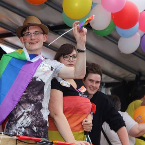 CSD Nordwest Demonstration & Strassenfest - Bild 75