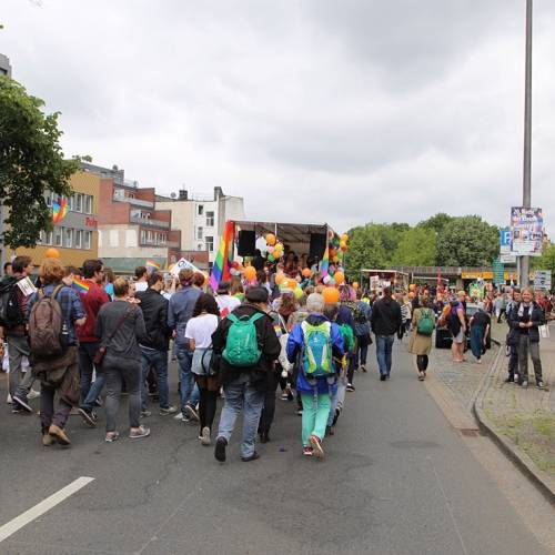 CSD Nordwest Demonstration & Strassenfest - Bild 89