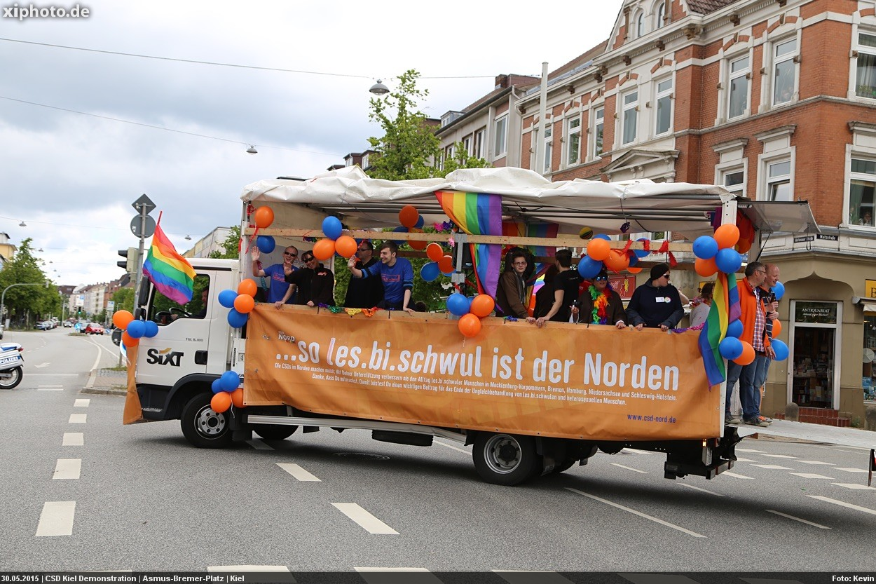 CSD Kiel Demonstration & Strassenfest / 1310x betrachtet