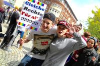 CSD Kiel Demonstration & Strassenfest / 977x betrachtet