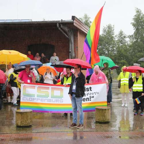 CSD Cloppenburg - Demonstration - Bild 7