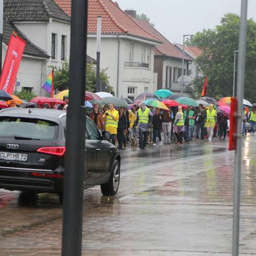 CSD Cloppenburg - Demonstration - Bild 3
