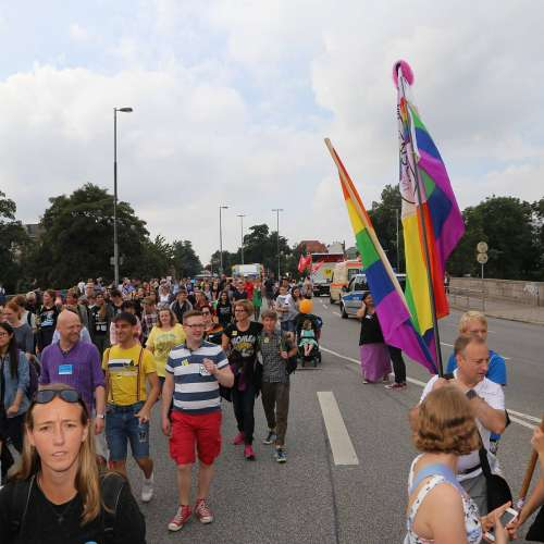 Lübeck Pride - Demonstration - Teil 1 - Bild 3