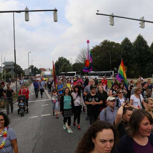 Lübeck Pride - Demonstration - Teil 1 - Bild 6