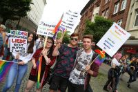 CSD Kiel - Demonstration & Straßenfest / 515x betrachtet