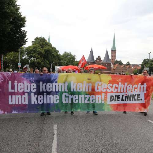 Lübeck Pride - Demonstration - Bild 2