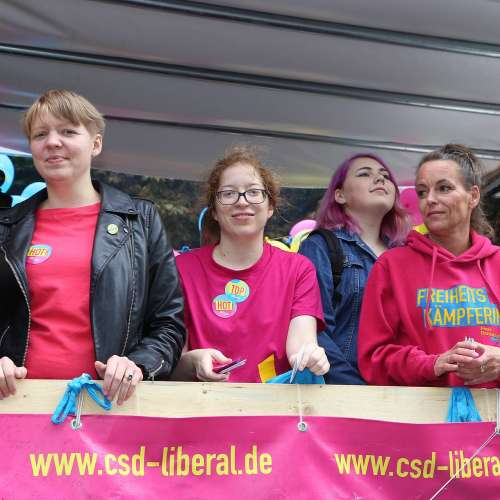 Lübeck Pride - Demonstration - Bild 3