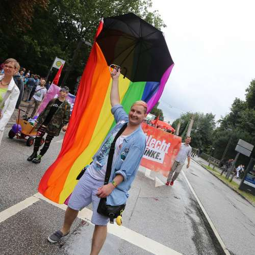 Lübeck Pride - Demonstration - Bild 7