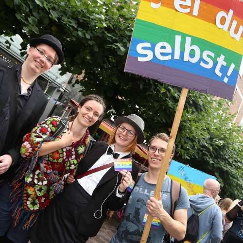 Lübeck Pride - Demonstration - Bild 4