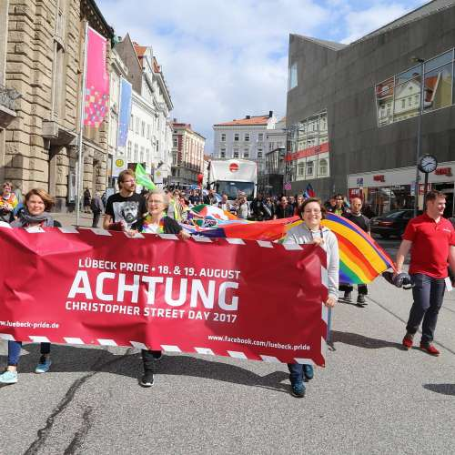 Lübeck Pride - Demonstration - Bild 5