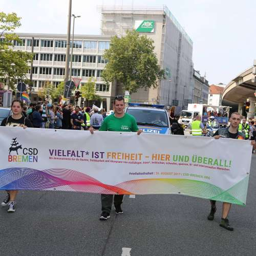 CSD Bremen Demonstration - Bild 74