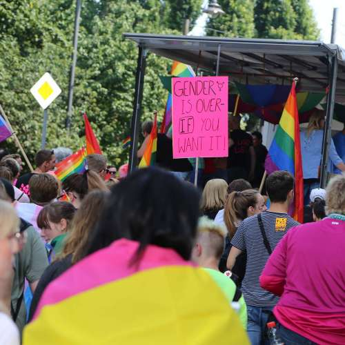 CSD Bremen Demonstration - Bild 104