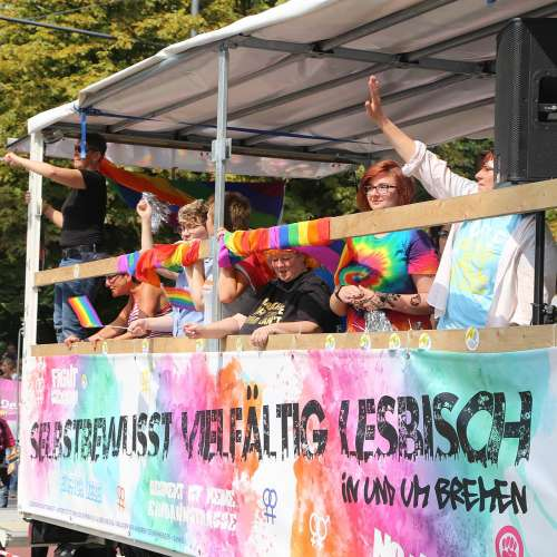 CSD Bremen Demonstration - Bild 117