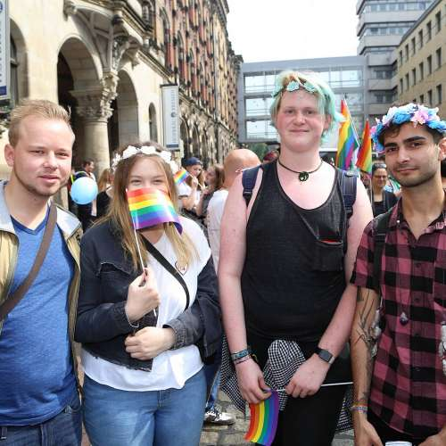 CSD Bremen Demonstration - Bild 165