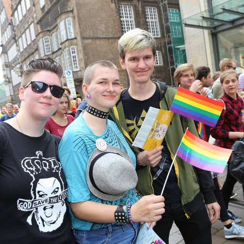 CSD Bremen Demonstration - Bild 4