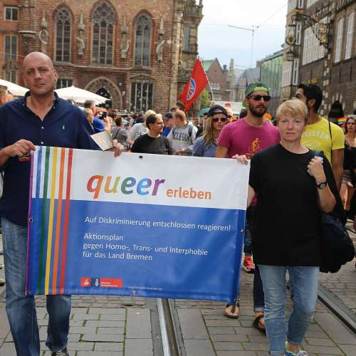 CSD Bremen Demonstration - Bild 178