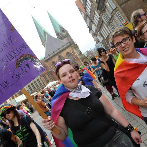 CSD Bremen Demonstration - Bild 7