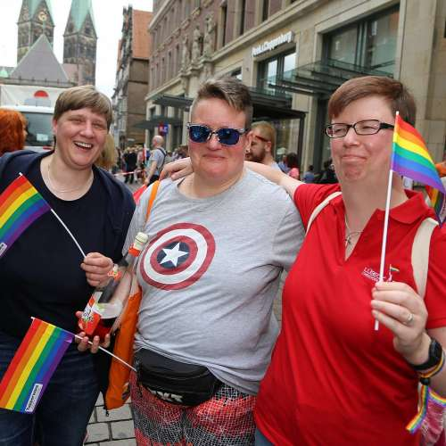 CSD Bremen Demonstration - Bild 189