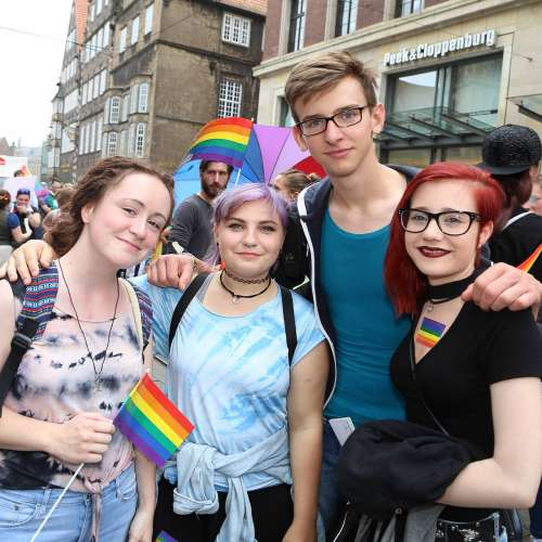 CSD Bremen Demonstration - Bild 190