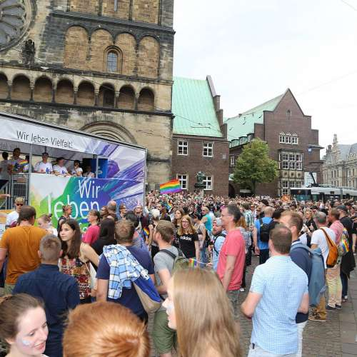 CSD Bremen Demonstration - Bild 206