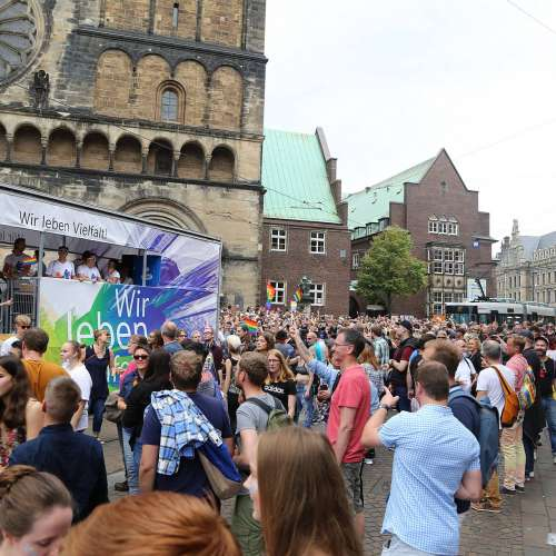 CSD Bremen Demonstration - Bild 207