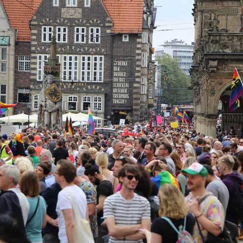 CSD Bremen Demonstration - Bild 210