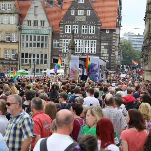 CSD Bremen Demonstration - Bild 217
