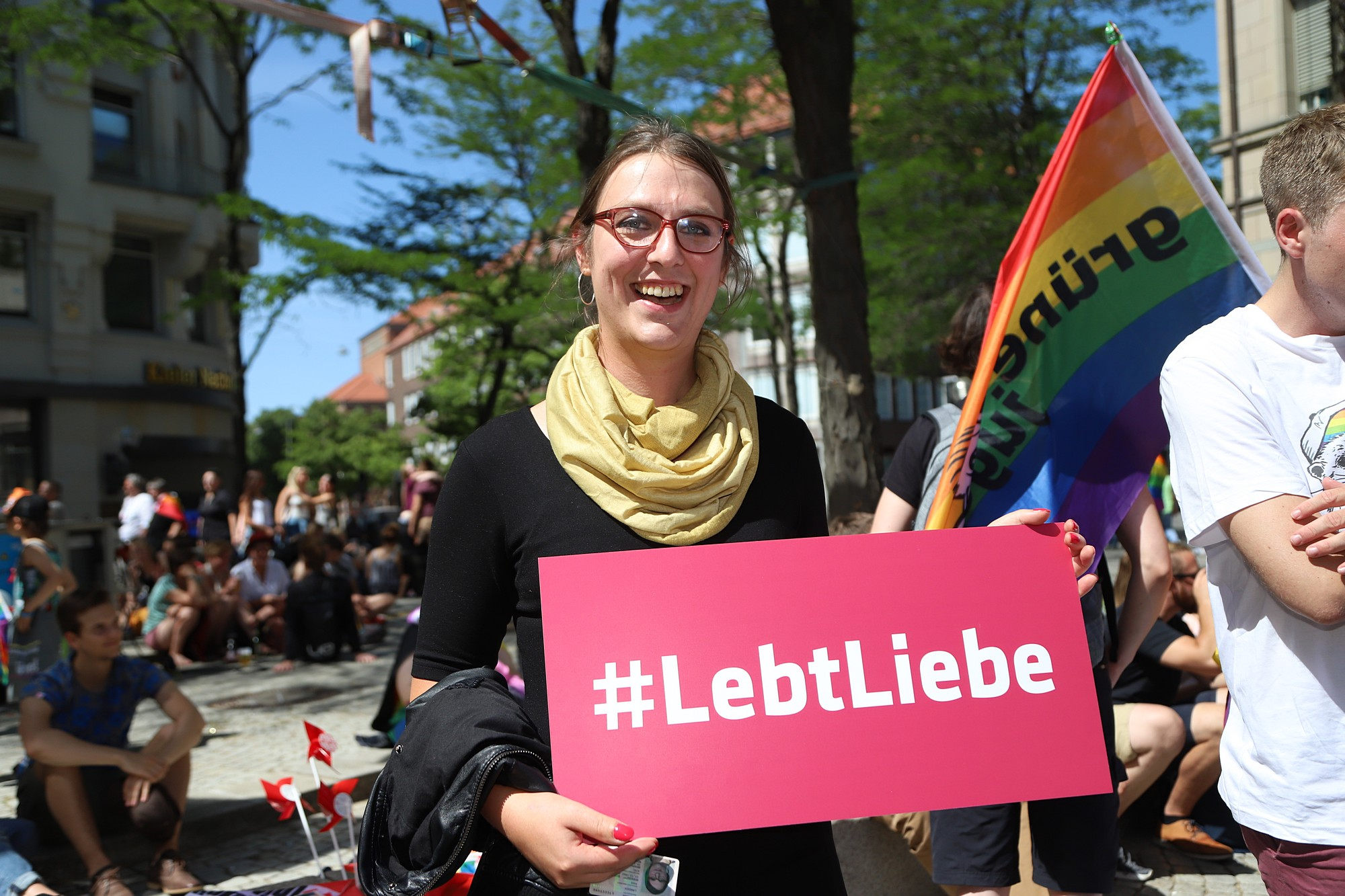 CSD Kiel - Demonstration & Straßenfest / 1041x betrachtet