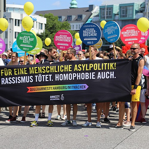 Hamburg Pride - Demonstration  - Bild 70