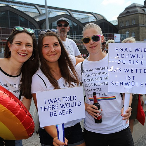 Hamburg Pride - Demonstration  - Bild 71