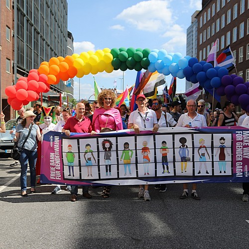 Hamburg Pride - Demonstration  - Bild 83
