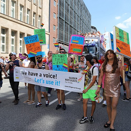 Hamburg Pride - Demonstration  - Bild 87