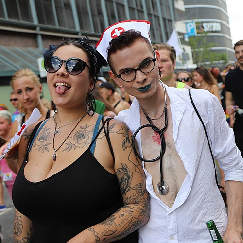 Hamburg Pride - Demonstration  - Bild 174