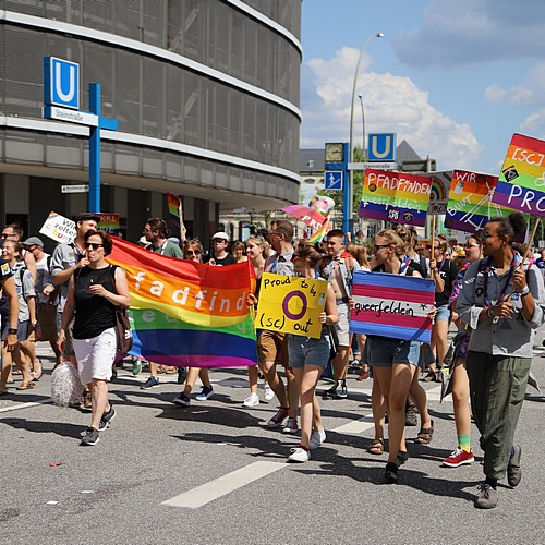Hamburg Pride - Demonstration  - Bild 200