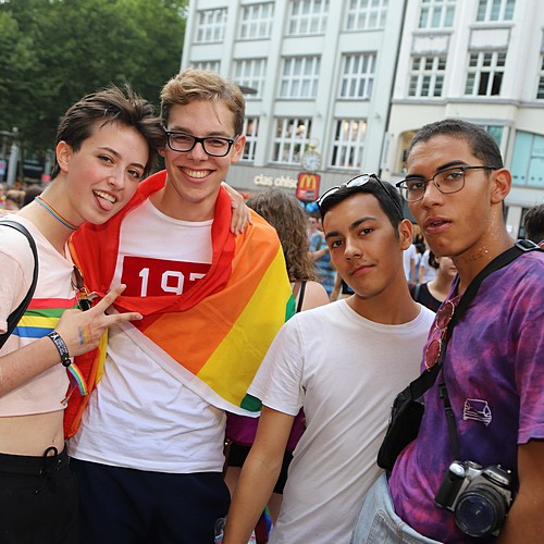 Hamburg Pride - Demonstration  - Bild 230