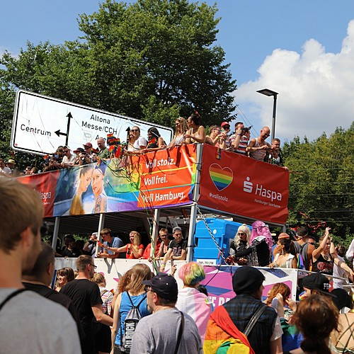 Hamburg Pride - Demonstration  - Bild 254