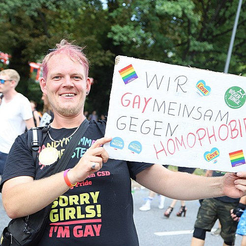 Hamburg Pride - Demonstration  - Bild 269