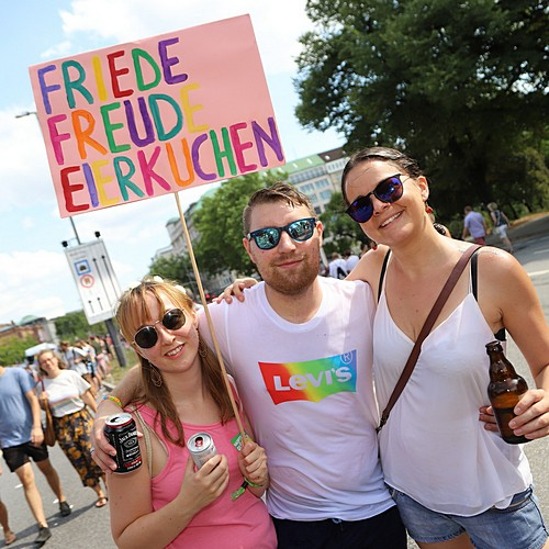 Hamburg Pride - Demonstration  - Bild 286