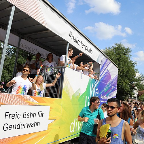 Hamburg Pride - Demonstration  - Bild 289