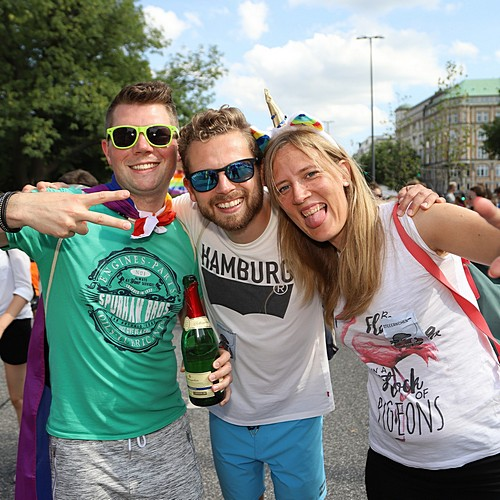 Hamburg Pride - Demonstration  - Bild 303