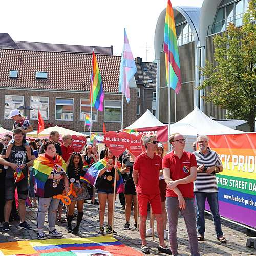 Lübeck Pride - Demonstration #1 - Bild 36