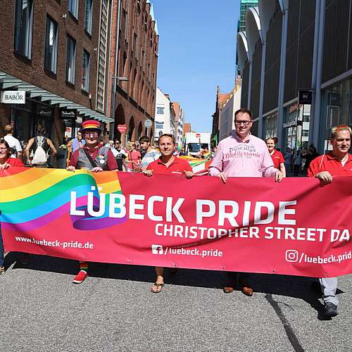 Lübeck Pride - Demonstration #1 - Bild 50