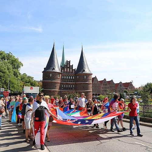 Lübeck Pride - Demonstration #1 - Bild 63
