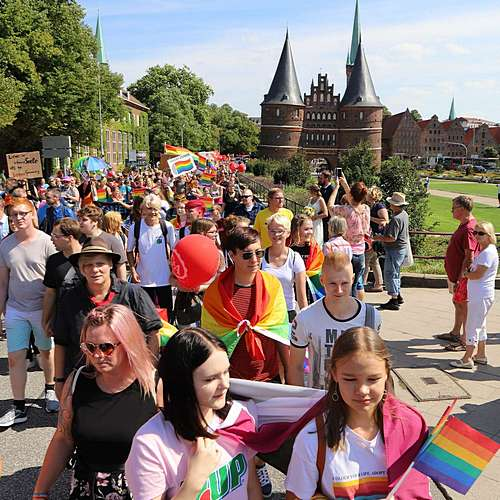 Lübeck Pride - Demonstration #1 - Bild 5