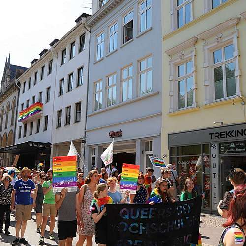 Lübeck Pride - Demonstration #1 - Bild 8