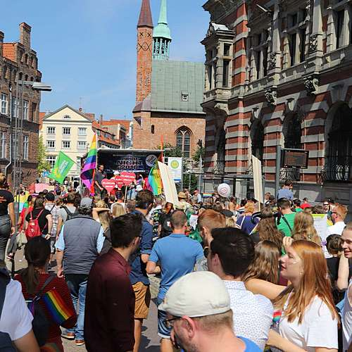 Lübeck Pride - Demonstration #1 - Bild 6