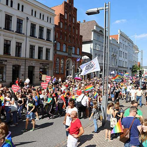 Lübeck Pride - Demonstration #1 - Bild 206