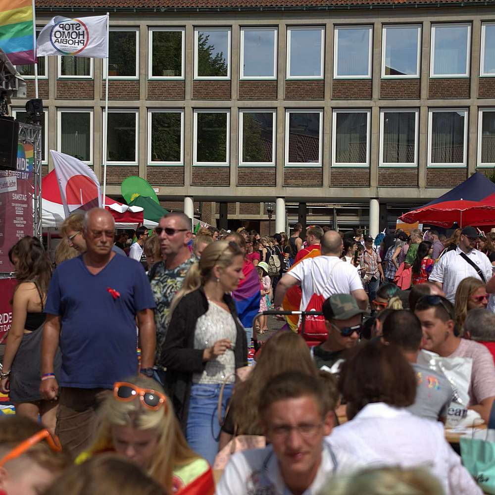 Lübeck Pride - Demonstration #2 - Bild 22